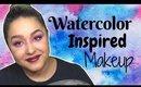 Watercolor Makeup Look