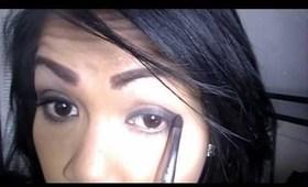 4 minute soft smokey brown eyes