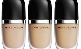 Marc Jacobs Genius Gel Super-Charged foundation First impression/Review
