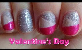 #3 Last Minute Nail Art for Valentine's Day ♥ Easy Valentine's Day Nail Art Design