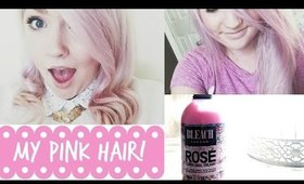 How I got my Pink Hair!