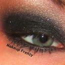 Black Glittery Makeup