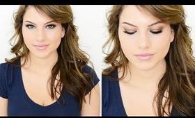 Summer Makeup Tutorial for Smoldering Eyes & Glowy Skin