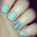 Mint glitter = <3