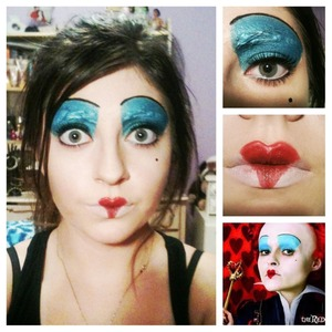 My take on Alice in Wonderland's evil queen.