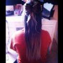 hair bow.<3