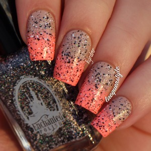 More info here: http://www.lacquerstyle.com/2013/11/notd-neon-nude-enchanted-polish-seven.html