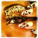Cheetah makeup and nails