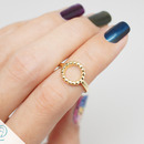 Circle Reef Knuckle Midi Ring
