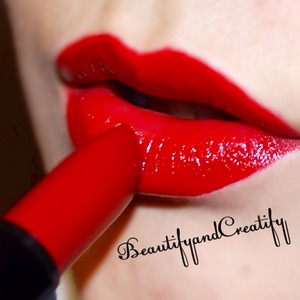 Motives cosmetics lipstick in manhattan. Enter the code beautifyandcreatify for free shipping on motivescosmetics.com