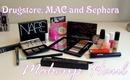 Drugstore, MAC and Sephora Makeup Haul