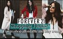 Forever 21 Shopping Hacks? How to shop, Tips & Come Shopping with me!