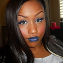 Blue Eyes Blue Lips!