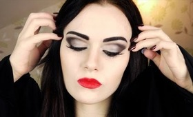 Morticia Addams Makeup Tutorial