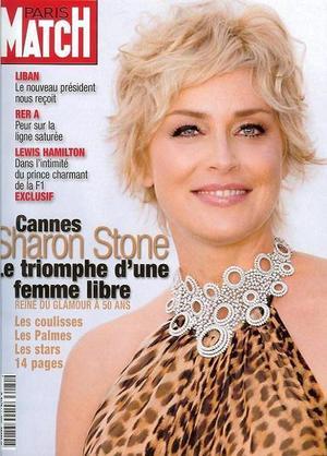 Sharon Stone - Paris Match