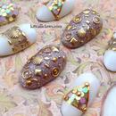 Summer Mermaid Seashell 3D nails
