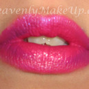 Pink shimmery Lips