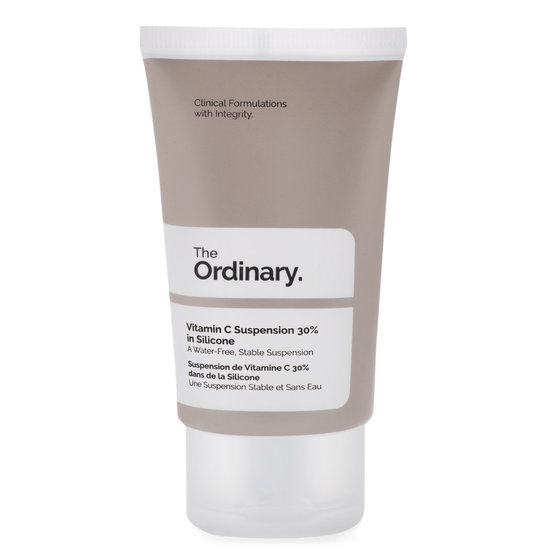 The Ordinary. Vitamin C Suspension 30% In Silicone product smear.