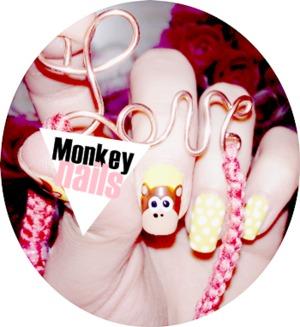My monkey nails