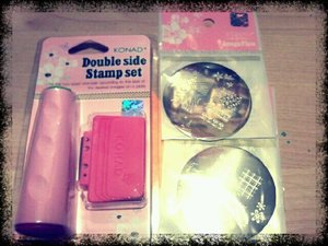 Just got my Konad stamper in the mail! Woohoo!!! Can't wait to use it!