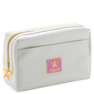Makeup Bag Glitter White