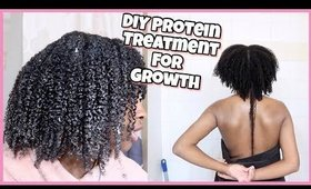 DIY Protein Treatment On My Matted Hair For Growth