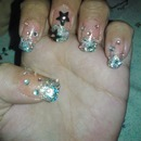 Star dust nails