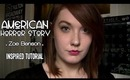 "American Horror Story: Coven ""Zoe"" Inspired Makeup Tutorial"