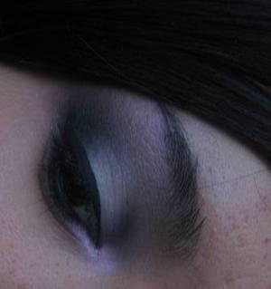 Grey Smokey Eyes with Pink Duochrome