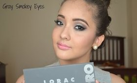 Gray Smokey Eyes [ Makeup for a Night Out ]
