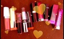 My 10 Favorite Drugstore Lipsticks!!!