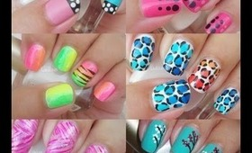 Nail Art - My Favorite Designs of 2012 - Mis Diseños Favoritos del 2012 - Decoracion de Uñas