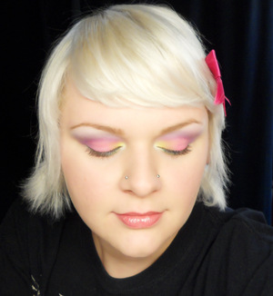 Ekka Inspired Makeup Fairy Floss Eyes