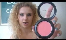 MAC Blushes: Sheertone Shimmer, Powder and Mineralize