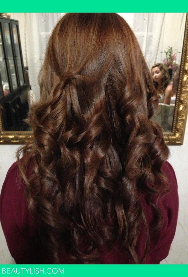 Brown Hair With Subtle Highlights Iris Ts Photo Beautylish