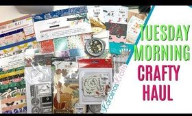 Tuesday Morning Craft Haul This Week, Tuesday Morning Haul 2019