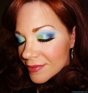 For More information on products used, please visit: http://www.vanityandvodka.com/2013/06/mermaid.html xoxo,  Colleen
