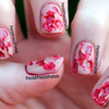 Ripped Flesh Halloween Special Effect Nail Art