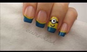 Despicable Me 2: Minion Nails + GIVEAWAY