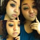 Blue/brown smokey