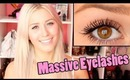 How to get MASSIVE Eyelashes!!