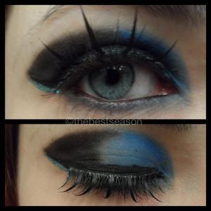 my doctor who TARDIS inspired eyes