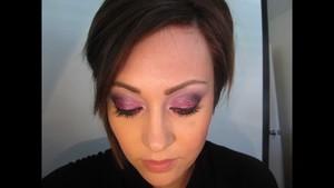 Magenta, Violet, Black, & Glitter