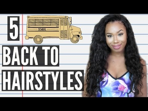5 Quick Easy Back To School Heatless Hairstyles Perfect