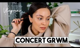 CONCERT GRWM | Vlogmas Day 6 + 7 - LifeWithTrina