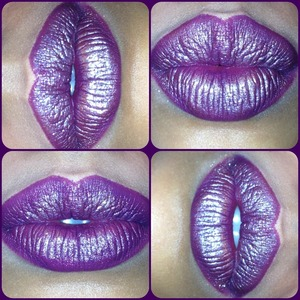 Purple kisses 💋 to invite you to come like my Facebook page to keep up with all my makeup posts + tutorials + beauty tips. 😊 Having lots of fun and would love for you ladies to be in on it with me.   http://Facebook.com/Joleposh  http://Instagram.com/Joleposh  http://YouTube.com/Joleposh