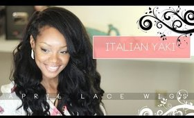 Straight Italian Yaki Natural Texture Hair: April Lace Wigs Review!