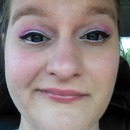 Perfect winged eyeliner...