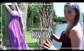 SUMMER DRESS HAUL | AW.Bridal Dress Review | Caitlyn Kreklewich