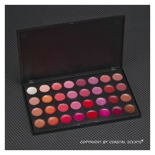 Coastal Scents 32 Lip Color Palette